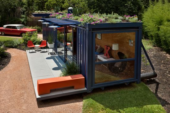 Shipping Container Home Designs 550 x 366