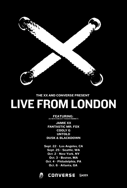 The xx and Converse Announce After Party Series |