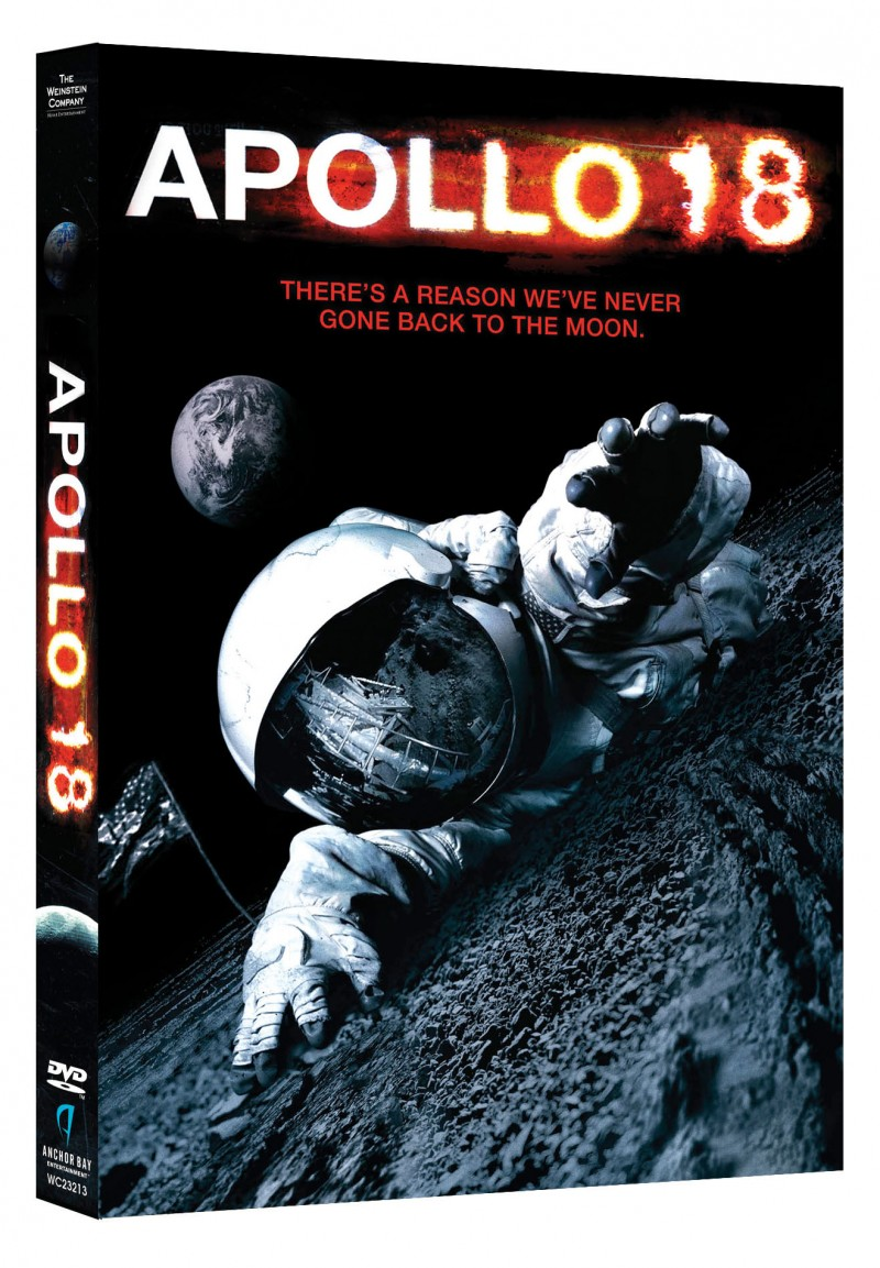 "A GIVEAWAY Sci-Fi Fans will LOVE ""Apollo 18"" DVD"