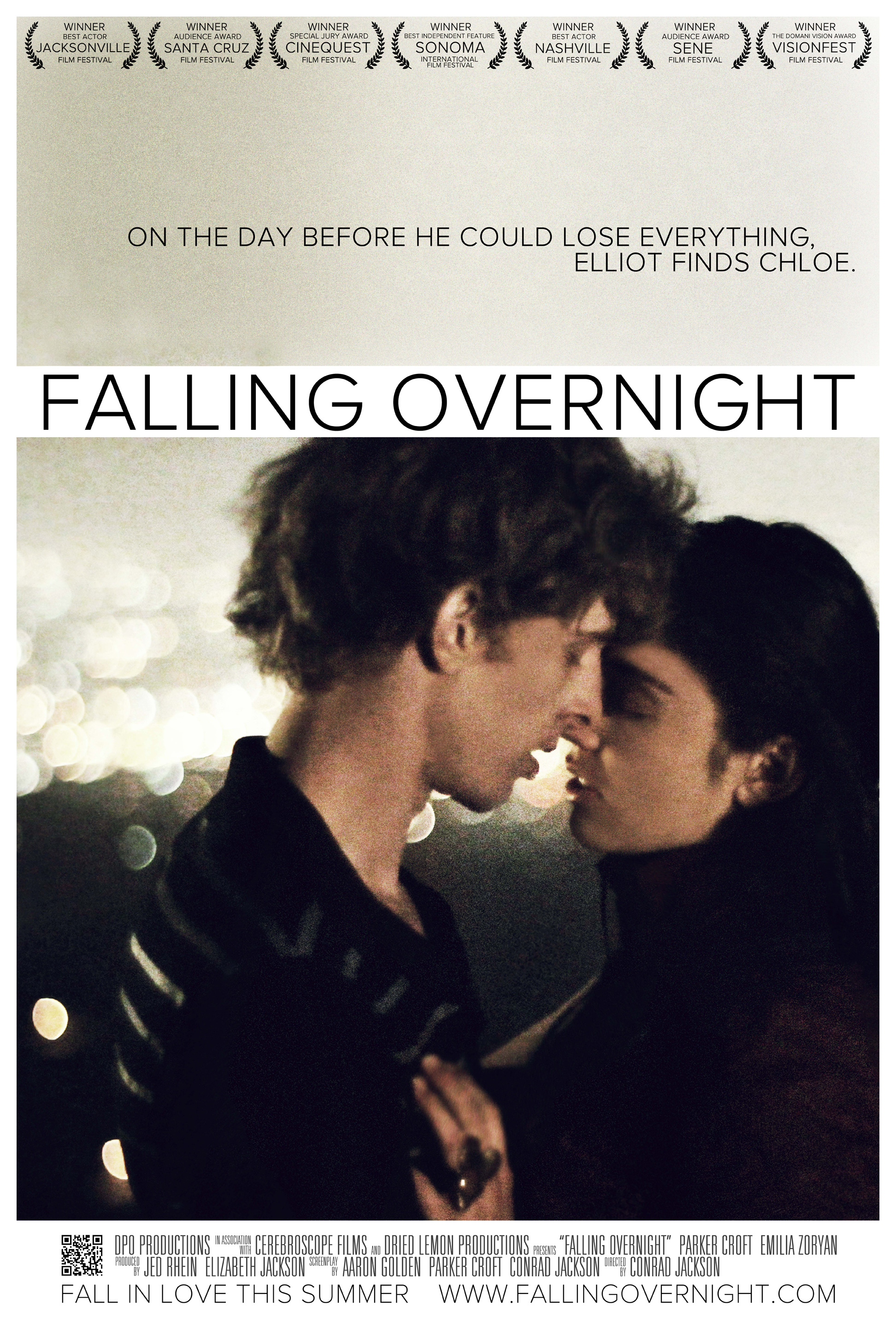 Award winning 'Falling Overnight' bringing romantics to the screen
