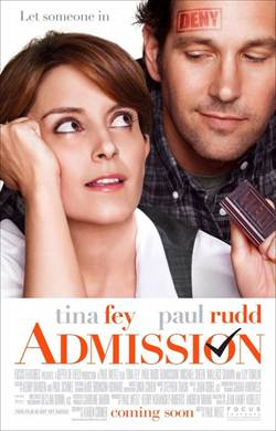 I'll admit I <3 Paul Rudd and his new movie #Admission