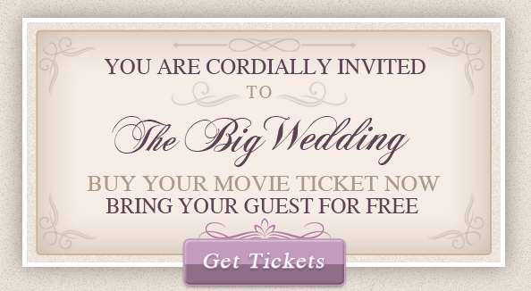 The Big Wedding; when you need some comic relief