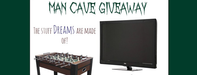 Pimp your Man Cave with this TV, Keg and foosball table – GIVEAWAY