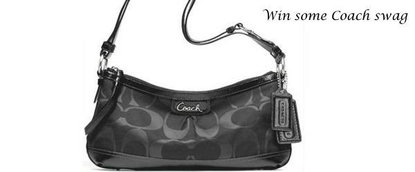 Hello lovely, here's your chance to win a Coach Park Signature Duffle