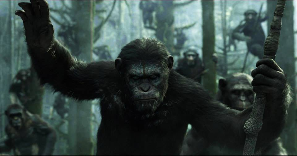 The poster for 'Dawn of the Planet of the Apes' is terrifying #DawnOfApes