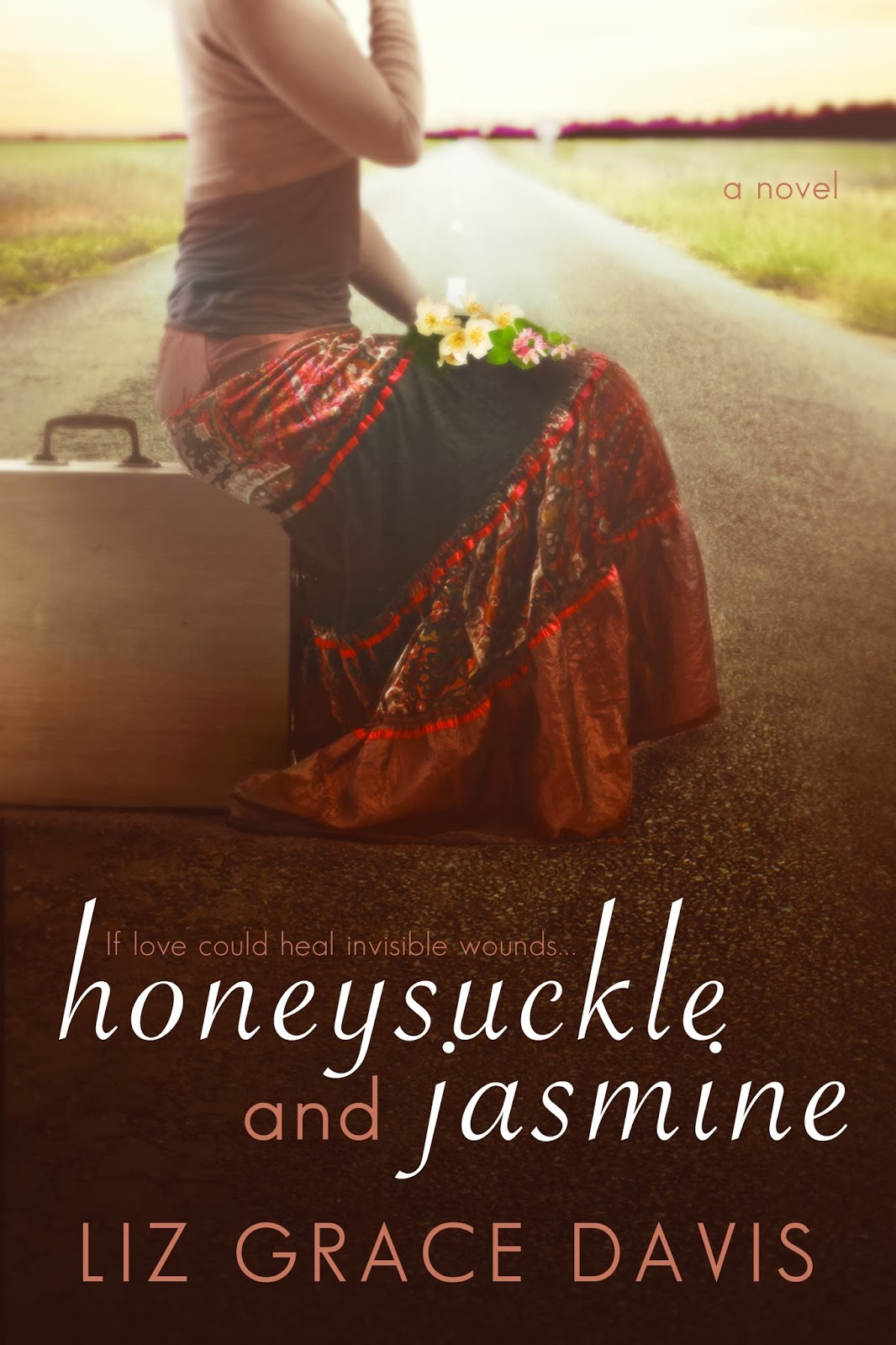 Honeysuckle and Jasmine by Liz Grace Davis