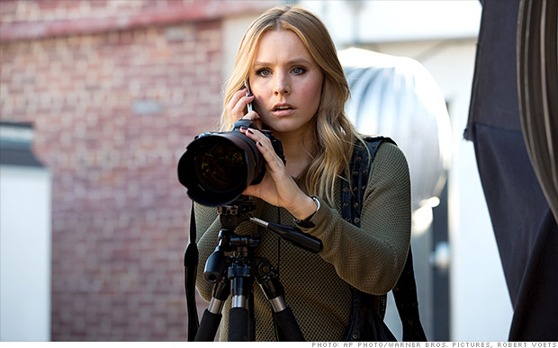 Veronica Mars movie in theaters today, win the DVD