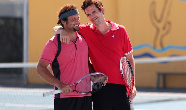 """We could make a """"ball"""" joke here, but tennis puns are quite the racquet"""