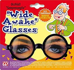 Glasses that make you look awake