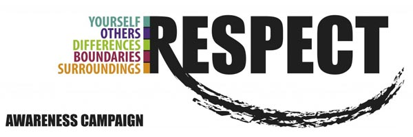 Respect each other banner