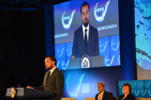 Leonardo DiCaprio Delivers Remarks at the 'Our Ocean' Conference