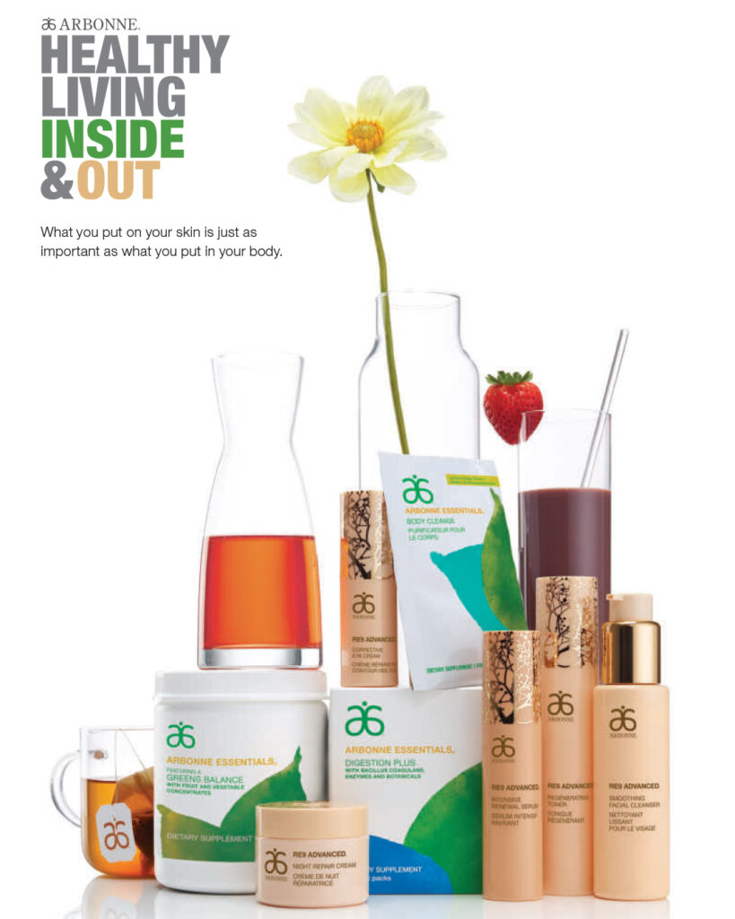 Arbonne Products Healthy Living Inside & Out