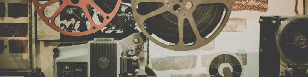 Old Time Movie Projector